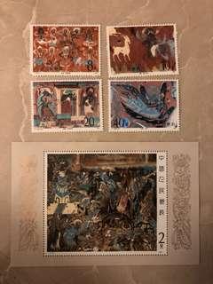 1987年 T116/T116M 壁畫郵票