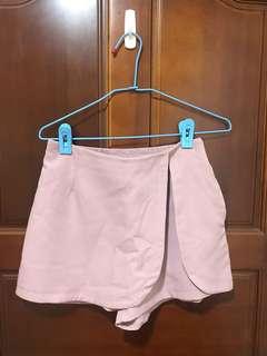 🚚 霧粉褲裙