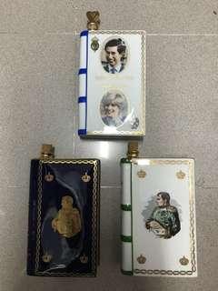 Camus 戴安娜1981年空瓶,還有兩個大將軍空瓶多年收藏冇花有酒塞,3個共680元幫朋友放有意聯繫。