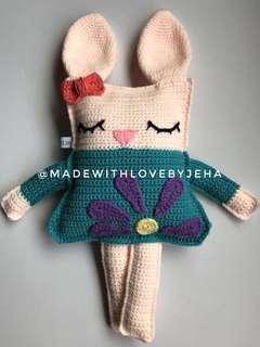 Crochet Ragdoll Bunny
