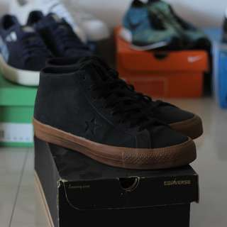 Converse One Star Mid Black Gum