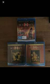 The Mummy blu rays