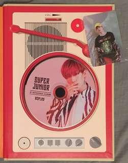 [只換] Super Junior Replay 銀赫普通版set