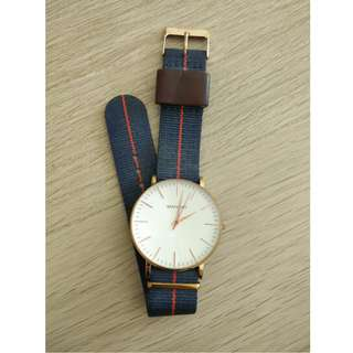 Brathwait Classic Slim Minimalist Wrist Watch 40mm - DW Daniel Wellington Style