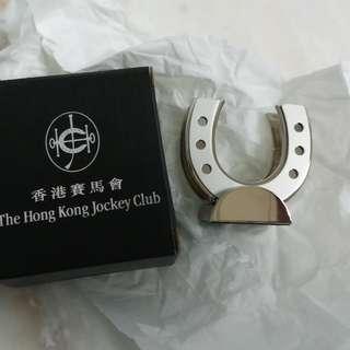 香港賽馬會咭片座行政人員必備 送禮自用 馬蹄卡片座