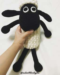 Crochet Toy Shaun The Sheep