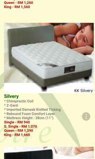 Single Bed - King Koil Silvery Chiropractic
