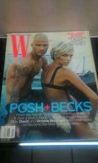 W Fashion Magazine ft. David & Victoria Beckham