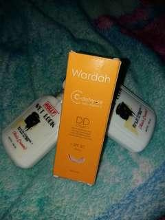 Wardah DD cream 20 ml gratis wet look (2pcs)