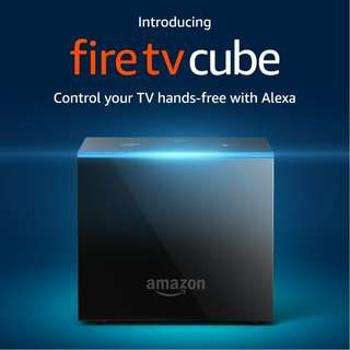 [PRE-ORDER] Fire TV Cube | Hands-Free with Alexa and 4K Ultra HD | Streaming Media Player