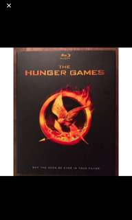 The Hunger Games blu rays