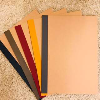 Muji Notebooks (set of 5)
