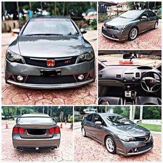 SAMBUNG BAYAR/CONTINUE LOAN  HONDA CIVIC FD 2.0 AUTO YEAR 2007 MONTHLY RM 1083 BALANCE 6 YEARS 10 MONTHS ROADTAX VALID LEATHER SEAT TIPTOP CONDITION  DP KLIK wasap.my/60133524312/fd2.0