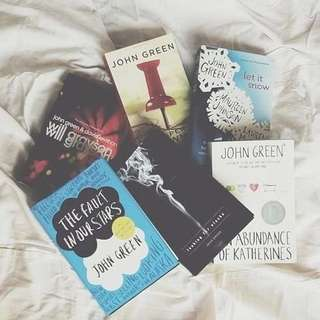 john green books (po) 🔥