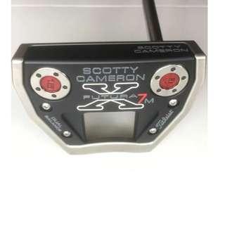 "Rare Scotty Cameron Futura X7m Dual Balance 37"" Golf Putter"