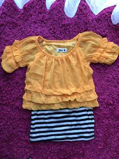Dress anak perempuan preloved