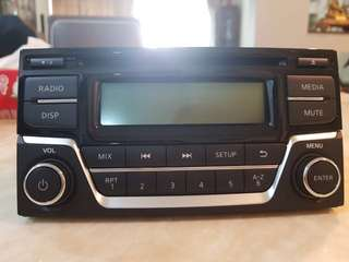 Original radio from nissan almera nismo