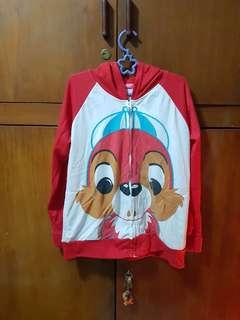 Jaket merah chipmunk
