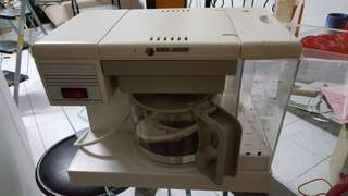 Black & Decker Coffer machine