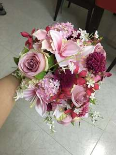 絲花花球 Wedding Bouquet