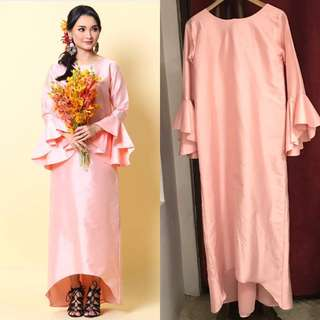 Shantung Pink Dress