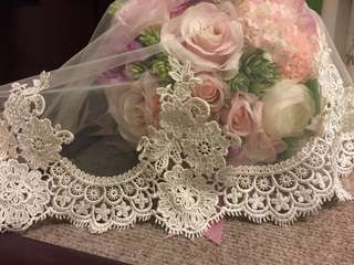 婚禮頭紗/結婚物資/婚後物資
