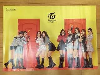 TWICE 官方海報 TWICE海報 韓國女子團體海報