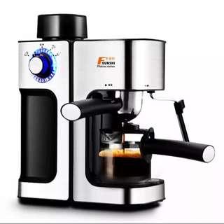 Fxunshi/华迅仕 MD-2006意式咖啡机家用商用半全自动蒸汽式迷你壶