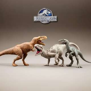 Authentic Jurassic World Mini Dinosaur Figurine Set