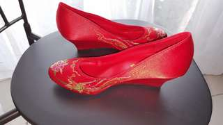 Weddind Red Shoes