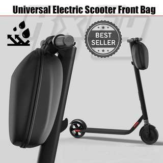 Escooter Scooter Hard Case Bag Bicycle Handle Bar Storage Inokim Speedway Xiaomi Passion Segway