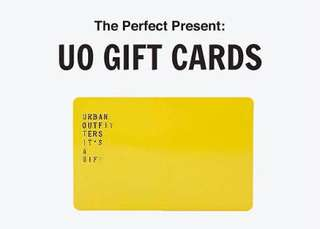 Urban Outfitters Giftcard