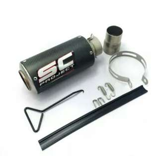 Exhaust muffler sc project racing for sale