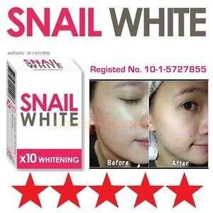 Snail White Soap 10X whitening power