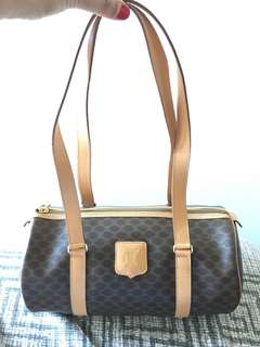 Original CELINE Paris Boston barrel bag