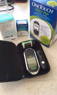One Touch - Blood Glucose Monitoring System (diabetic meter)