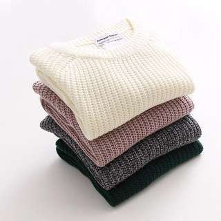 AA inspired knitted sweater