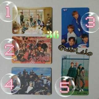 36期Yes!卡 ( K-Pop 男團 )