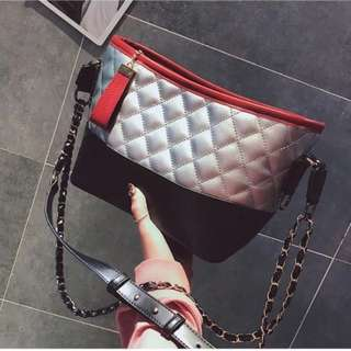🚚 🔥版娘實拍🔥小香風 流浪包 蔡依林同款 菱格包 鏈條包 側背包