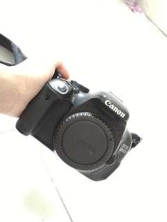 Canon EOS 600D dgn 3 lens dan bag