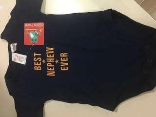 Baby boy onesie 6-12mos