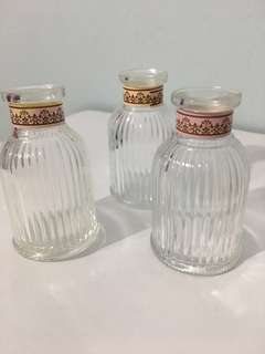 Mini Glass Bottles