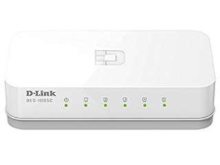 D-Link DES-1005C 10/100 Network Switch