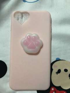 Pink jelly Iphone 7/8 Plus Casing