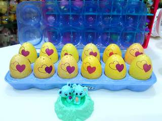 BN Season 3 Best Friends / Twins 12 Hatchimals Colleggtibles Egg + Carton Holder + Bonus Twins + Nest