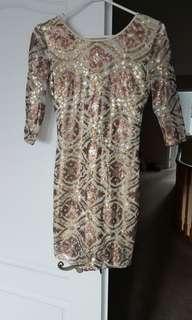 Brand new sequence dress