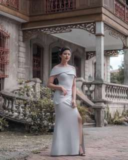 Apartment 8 gray Monarchy gown (new)