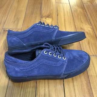 🚚 Vans cordova 藍 黑 麂皮 帆布鞋 滑板鞋 Old skool era authentic