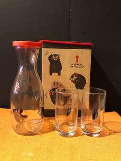🚚 熊本熊玻璃杯組 80元不含運