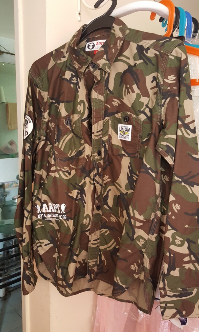 cb8b7076a Aape by A Bathing Ape, Men's Fashion, Clothes, Outerwear on Carousell